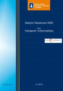 Zeszyty Naukowe WSEI Transport i Informatyka