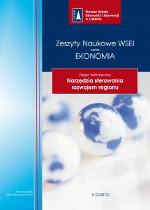 Zeszyty Naukowe WSEI Ekonomia