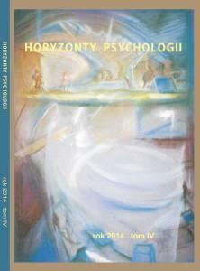 Horyzonty Psychologii 2014 okładka