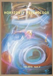 Horyzonty Psychologii 2015 okładka
