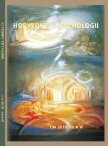 Horyzonty Psychologii 2016 okładka